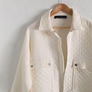 Zara Jackets & Coats - ZARA - Quilted Jacket